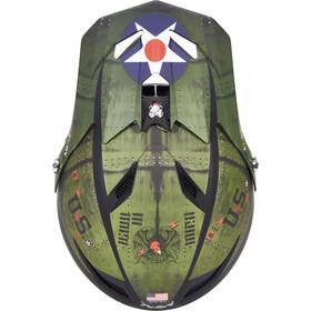 ONeal Fury RL Helmet WARHAWK black/green